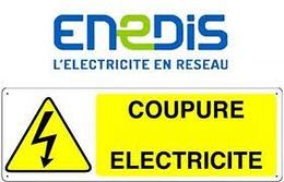 COUPURES D''ÉLECTRICITÉ MARDI 20 AVRIL
